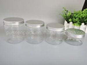 Plastic Cosmetic Cream Jar Aluminum Lid (PPC-PPJ-20) pictures & photos