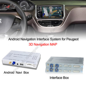 Android Navigation Interface Box for Peugeot, Ds, Citroen Upgrade Touch Android System, Internet, Games, Googl Map pictures & photos