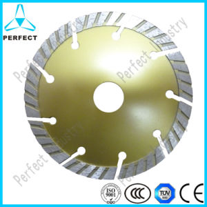 Segmented Turbo Diamond Saw Blade for Cutting Granite pictures & photos