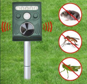 Dog Fox Bird Scarer Pest Repeller Solar Ultra Sonic Garden Cat Pest Control pictures & photos