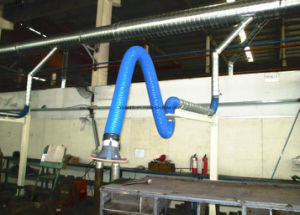 Loobo Flexible Extraction Arm for Welding Grinding Dust Collection System pictures & photos