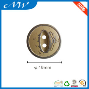 Metal Alloy Sewing Button in Various Color pictures & photos