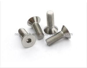 Stainless Steel Countersunk Hex Socket Machine Screw M3-M5 pictures & photos
