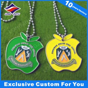 Metal Dog Tags School Souvenir Dog Tags with Color Enamel pictures & photos