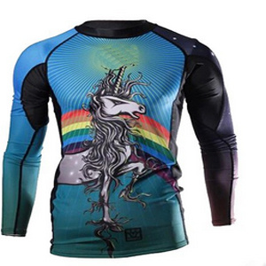 2015 Custom Compression Bjj Wholesale Rash Guards pictures & photos