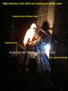 Pure Metal / Alloy Spraying Spray Zinc & Aluminum on Steel Structure Coating Service pictures & photos