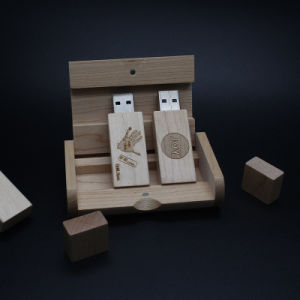 1GB-64GB Wooden USB Flashdrive Key Logo Engraving as Wedding Return Gifts pictures & photos