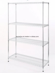 Hot Sale Metal Chrome Wire Flowers Shelf for Afghanistan pictures & photos