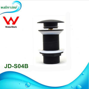 SUS304 Black Basin Pop-up Waste Drain with Watermark From Kaiping pictures & photos