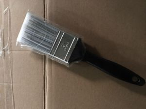 Pet Painting Brushes with Black Plastic Handle Paint Brush pictures & photos