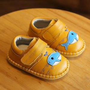 Baby Shoes Genuine Leather First Walkers for Infant Toddler (AKBS28) pictures & photos