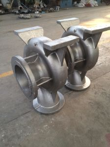 OEM High Quality Sand Casting Valve and Pump Parts Casting pictures & photos