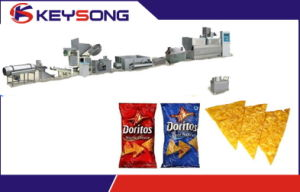 Doritos Tortilla Chips Fried Snack Making Machine pictures & photos