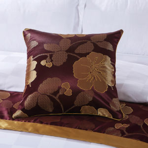 Factory Luxury 200 Count Duvet Covers Set with Jacquard pictures & photos
