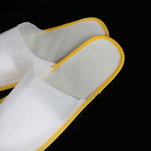 Disposable Hospital Slippers Hotel Guest Slippers pictures & photos