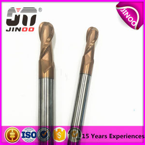 HRC45/55/65 High Quality Coating 2flute Solid Carbide Ball End Mills pictures & photos