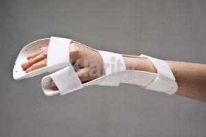 Thermoplastic Splints - Preformed Resting Pan Mitt Splint pictures & photos