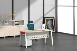White Customized Metal Steel Office Staff Table Frame with Ht88-1 pictures & photos
