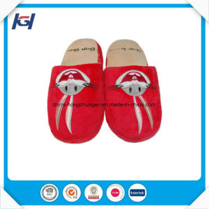 Wholesale Women Fancy Winter Warm Indoor Bedroom Slippers pictures & photos