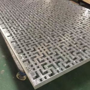 High Quality Customized Aluminum Laser Cutting Cladding & Ceiling pictures & photos