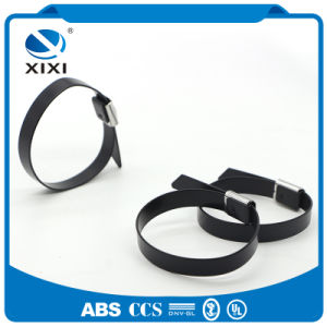 Coated Stainless Steel Cable Ties pictures & photos