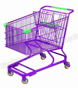 180 Liters Supermarket Retail Store Convenient Shopping Trolley pictures & photos