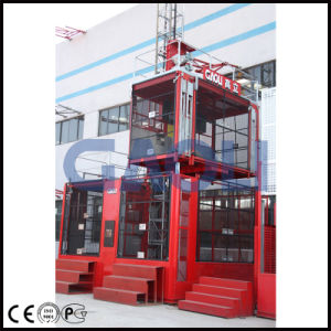 Gaoli 2 Ton Construction Building Lift Hoist pictures & photos