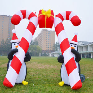 Outdoor Holiday Decoration Inflatable Candy Arch pictures & photos