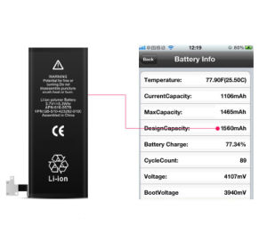 Cell Phone Li-ion Polymer 1560mAh 3.8V Battery Replacment for Iphon iPhone 5s 5c iPhone_5s pictures & photos