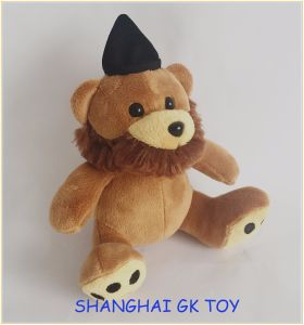 Plush Bear with a Hat with Whisker pictures & photos