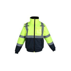 100% Polyester Lightweight Waterproof Safety Jacket pictures & photos