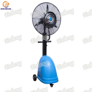 Portable Moving Cooling Mist Fan with Wheels pictures & photos