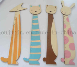 OEM Advertising Animal Children Kids Wooden Ruler for Promotion pictures & photos