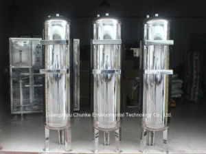 Stainless Steel Carbon / Sand Water Filter Housing Equipment pictures & photos