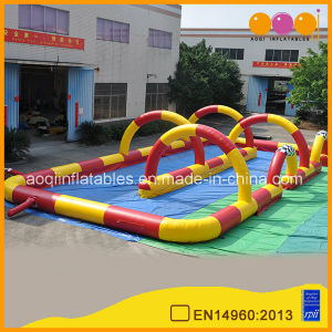Inflatable Car Racing Track (AQ16308) pictures & photos