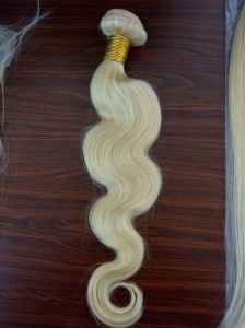 Malaysian Body Wave 8A Grade Virgin Hair Body Wave Soft Human Hair Weave Bundles #613 Human Hair Extensions pictures & photos