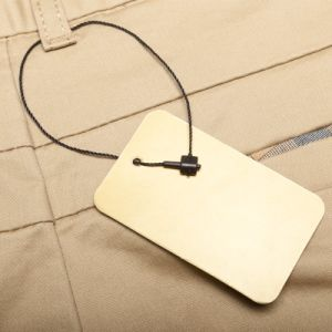 Customized Apparel Clothing String Hang Tags (DL59-1) pictures & photos