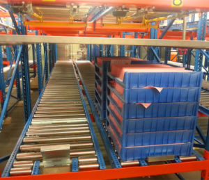 Pallet Gravity Rack for Live Storage pictures & photos