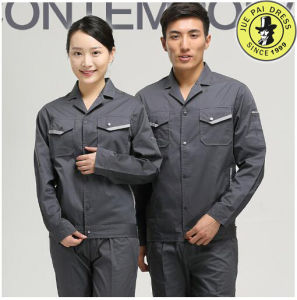 Winter Cotton Construction Winter Flame Resistant Workwear Grey Color pictures & photos