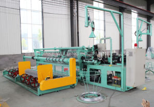 High Capacity Full Automatic Chain Link Fence Machine pictures & photos
