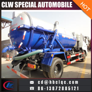 Dongfeng 10t Sewer Sucking Tank Truck Vacuum Tank Vehicle pictures & photos
