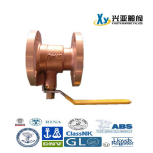 Wafer Type Butterfly Non-Return Ball Bronze Valve pictures & photos