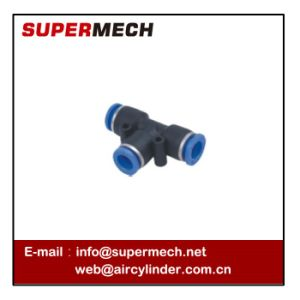 Peg Union Tee Reducer Pneumatic Fittings One Touch Fitting pictures & photos