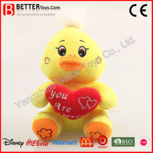 Valentine Soft Gift Stuffed Animal Chicken Plush Chick Toy pictures & photos