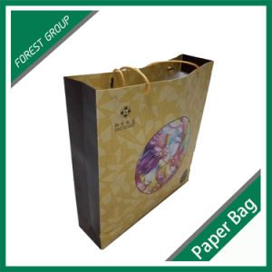 Custom Luxury Paper Shopping Gift Bag with Logo Print Wholesale pictures & photos