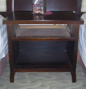 Wooden Furniture Bed Side Table Hotel Bedroom Cheap Nightstand pictures & photos