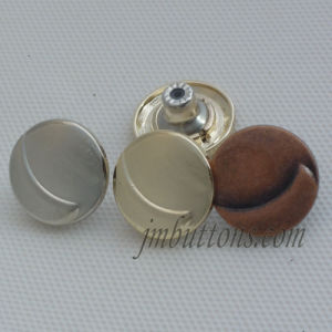 Different Shape Fashion Metal Button for Jeans Jacket pictures & photos