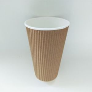 Whole Size Double Wall Ripple Paper Cup (YHC-091) pictures & photos