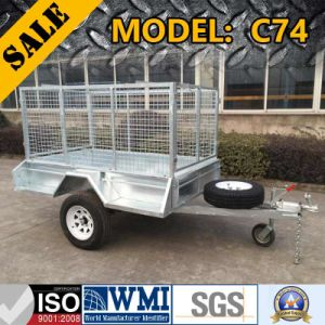 2017 Fully Welded Cage Trailer