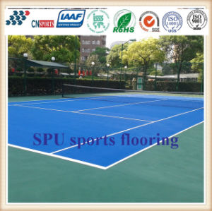 Professional Antislip Colorful Indoor Spu Tennis Sports Flooring pictures & photos
